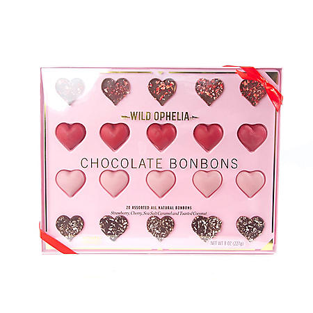 Wild Ophelia Chocolate Bonbons, Assorted Flavors (20 ct.)