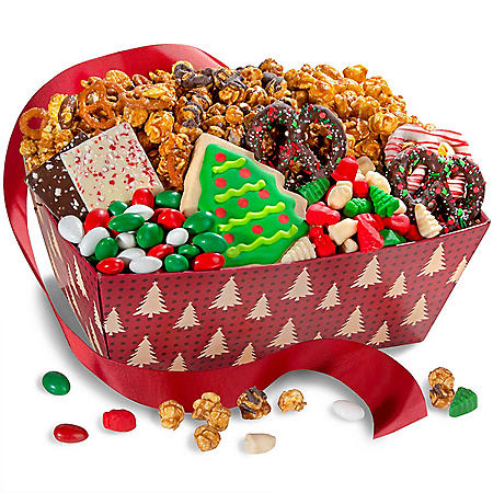Save 35% on a fruit caramel crunch gift box