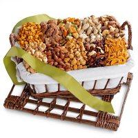 Golden State Fruit Gourmet Nuts and Snacks Hamper