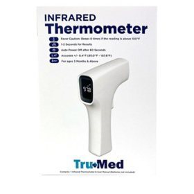 Tru Med No-Touch Infrared Thermometer