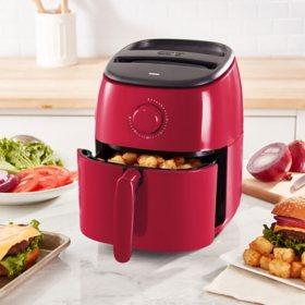 Tasti-Crisp Express Air Fryer, 2.6 Quart (Assorted Colors)