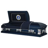 Titan Casket Military Select Steel Funeral Casket