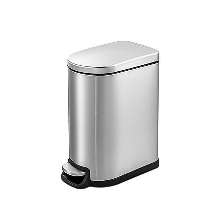 Qualiazero 10L / 2.6 Gallon Slim Step Can