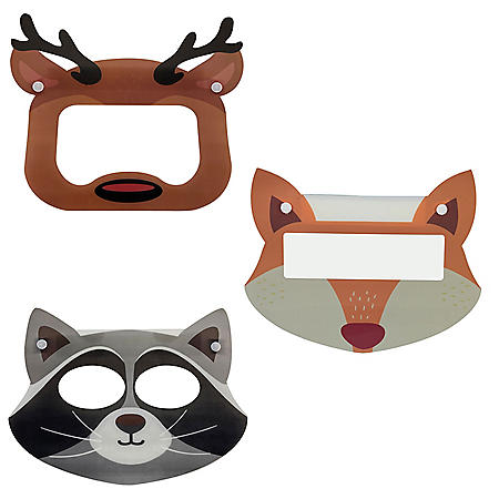 Kids' Lightweight Protective Full Face Shield, Choose your Style (3 pk.)