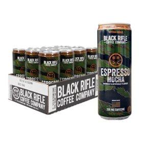 Black Rifle Coffee Company Espresso Mocha (11 oz., 12 pk.)