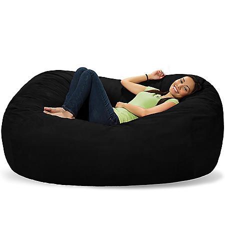 Comfy Sacks 6' Memory Foam Bean Bag Lounger (Assorted Colors)