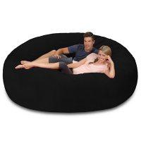 Comfy Sacks 8' Memory Foam Huge Bean Bag Chair (Assorted Colors)
