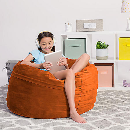 Comfy Sacks Kids 3' Memory Foam Bean Bag Chair (Assorted Colors)