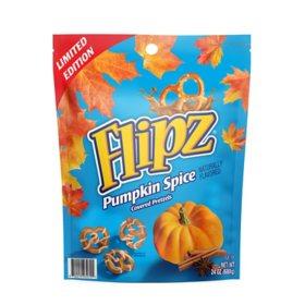 Flipz Pumpkin Spice Covered Pretzels (24 oz.)