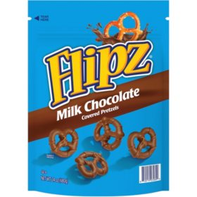 Flipz Milk Chocolate Covered Pretzels (24 oz.)