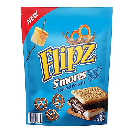 Flipz S'Mores Covered Pretzels (24 oz.)