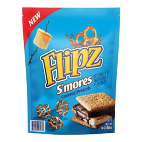 Flipz S'Mores Covered Pretzels (24 oz.)