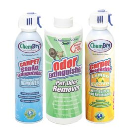 Chem-dry Stain & Pet Odor Extinguisher Pack With Lemon Grove Carpet Deodorizer