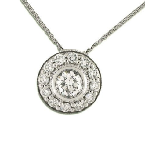 .76 ct. t.w. Diamond Fashion Pendant (H-I, I1)