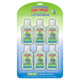 Ultra Defense Sani+Smart Hand Sanitizer with Aloe Vera (1.69 oz., ea. 6 pk.)