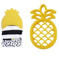 Itzy Ritzy Silicone Teether and Teething Mitt (Choose Your Style)