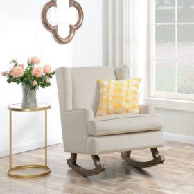 Lily Glider Chair - Buckwheat
