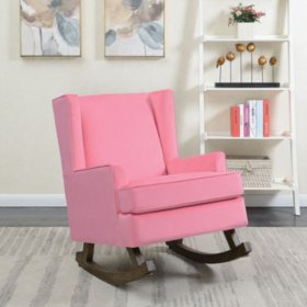 Lily Glider Chair - Pink