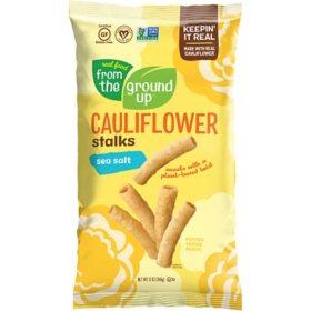 Real Food from the Ground Up Cauliflower Sea Salt Stalks (12 oz.)