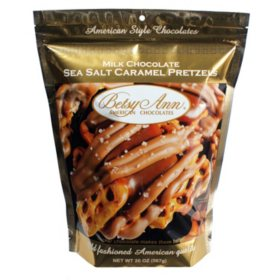 Milk Chocolate Sea Salt Caramel Pretzels (20 oz.)