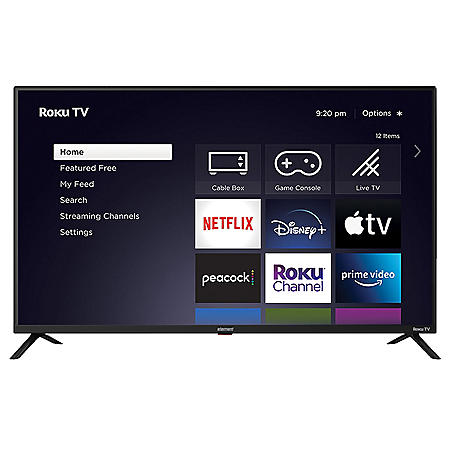 """Element 43"""" Class 4K Ultra HD Roku Smart TV - E4AA43R-G"""