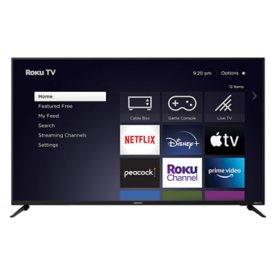 """Element 55"""" Class 4K Ultra HD HDR10-Series Roku Smart TV - E4AA55R-G"""