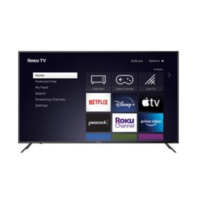 "Element 65"" Class 4K Ultra HD Roku TV - E4AA65R-G"