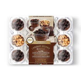 Mia Chocolate Brownie Mousse Variety Pack (12 ct.)