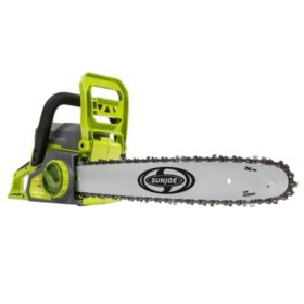 "Sun Joe iON 40-Volt Cordless 16"" Chain Saw w/ Brushless Motor"