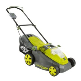 "Sun Joe 16"" 40-Volt Cordless Lawn Mower (battery + charger not included)"