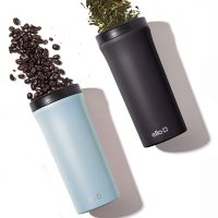 Arabica 14-ounce Stainless Steel Travel Tumbler, 2-Pack (Assorted Colors)