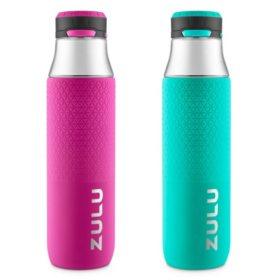 Zulu 32 oz. Studio Tritan Water Bottle, 2-Pack (Assorted Colors)