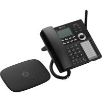 Ooma Telo 2 VoIP Phone System with DP1-T Wireless Desk Phone, Black