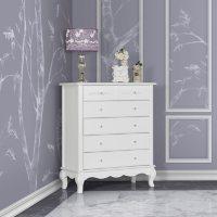 Evolur Aurora 6-Drawer Dresser (Choose Your Color)