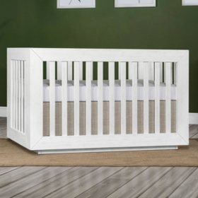 Evolur Maddox Modern Crib, Weathered White