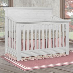 Evolur Waverly 5-in-1 Convertible Crib (Choose Your Color)