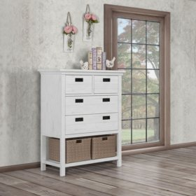 Evolur Waverly Tall Chest (Choose Your Color)