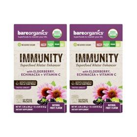 BareOrganics Immunity Water Enhancer (24 ct.)
