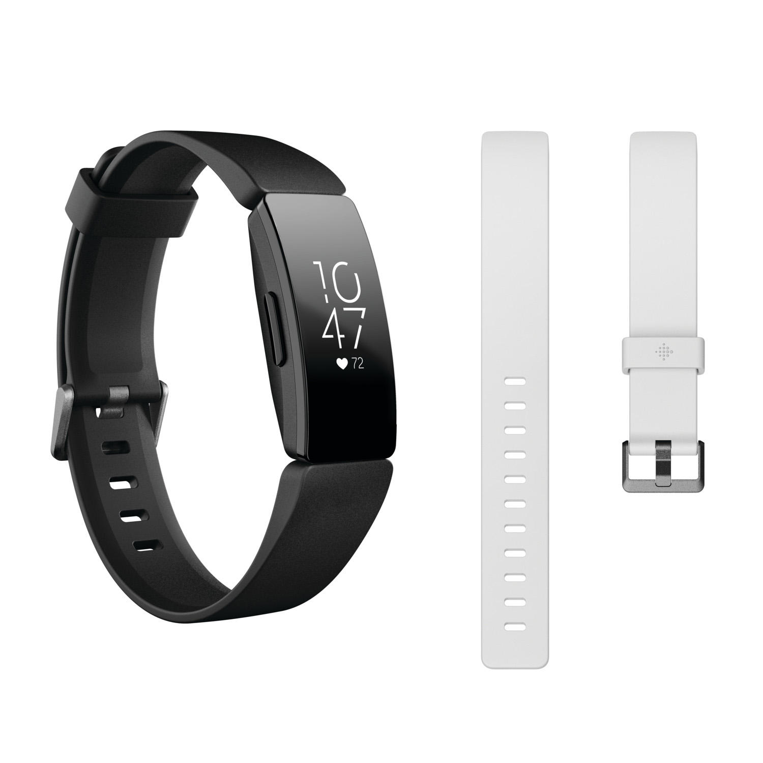 Fitbit Inspire HR Heart Rate & Fitness Tracker with Bonus Accessory Band