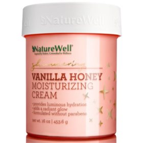 Nature Well Shimmering Vanilla Honey Moisturizing Cream (16 oz.)