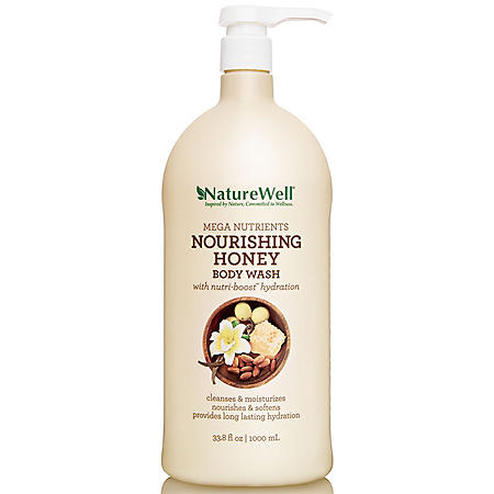 Nature Well Mega Nurtrients Nourishing Honey Body Wash (33.8 fl. oz.)