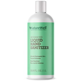 Naturewell Advanced Liquid Hand Sanitizer Refill (1 liter)