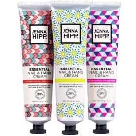 Jenna Hipp Essential Nail & Hand Cream ( 4 oz., ea. 3 pk.)