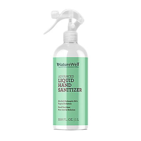 Naturewell Advanced Liquid Hand Sanitizer Refill (1 liter)