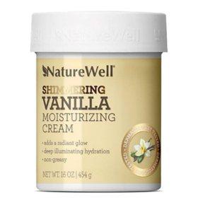 NatureWell Shimmering Vanilla Cream (16 oz.)