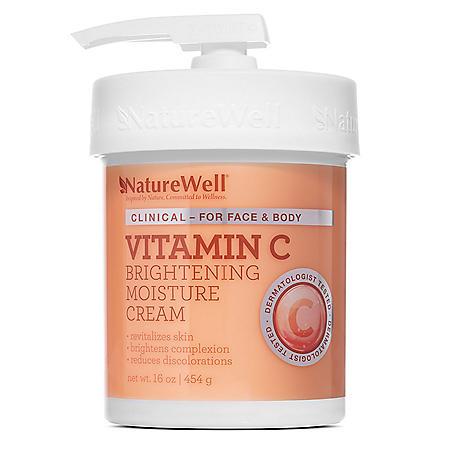 NatureWell® Vitamin C Moisturizing Cream (16 oz.)