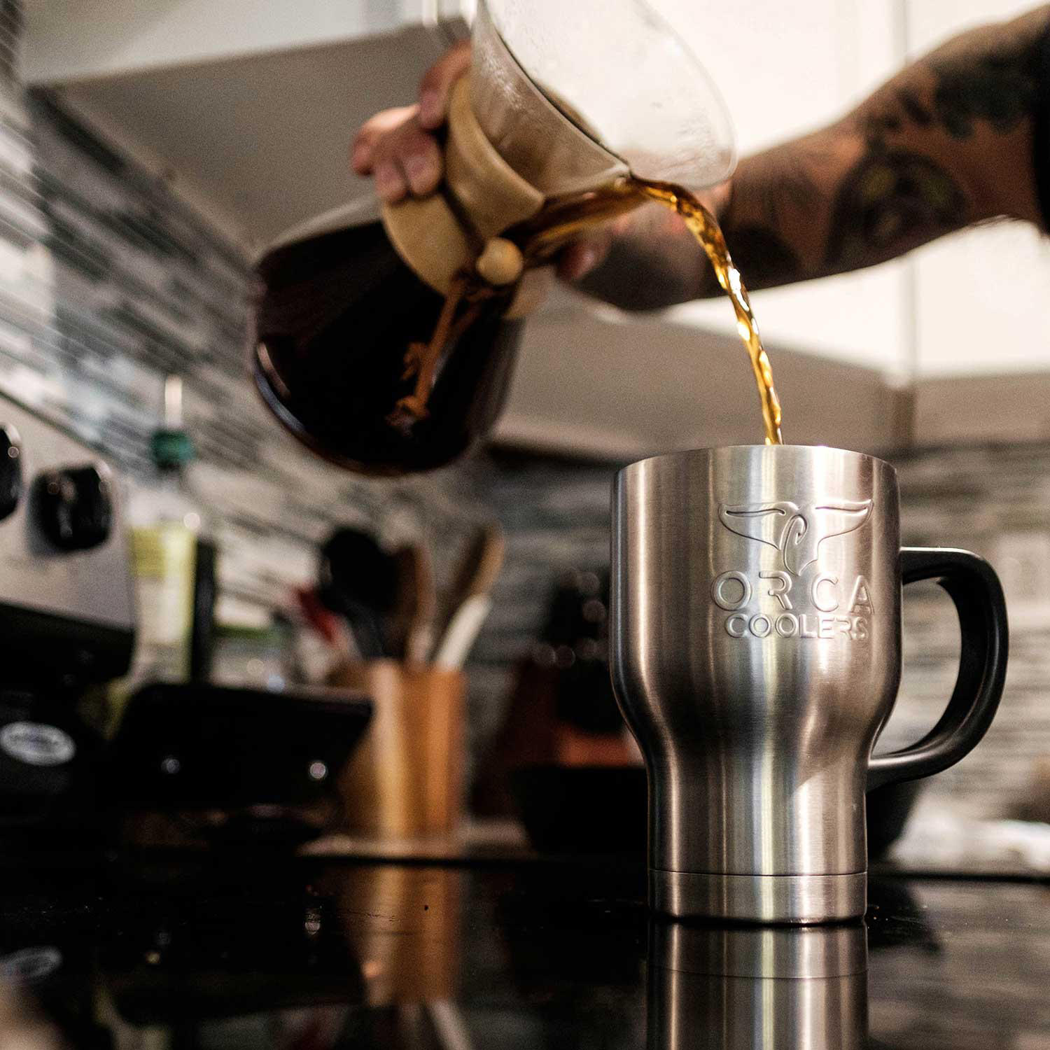 ORCA Café Stainless Steel Tumbler – 2-Pack