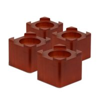 Honey-Can-Do Solid Wood Bed Risers (4-pack)