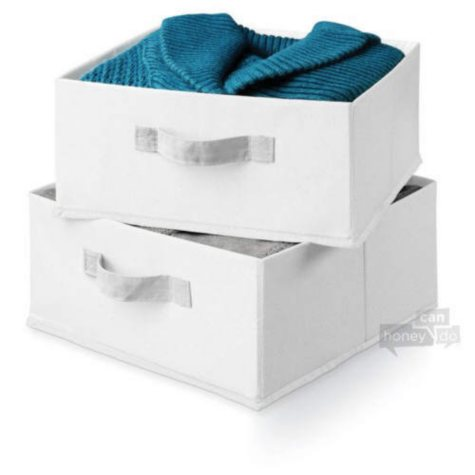 Honey-Can-Do Storage Drawers (2-pack)
