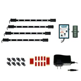 """CYRON 4'x9"""" Multicolor LED Light System - Wired Remote"""
